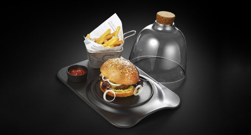The burger plate for professionals : burger chic